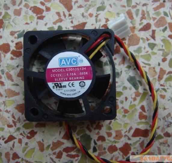 Охлаждение для компьютера DC12V 0.10a , C3010S12H 2/30x30x10mm полуприцеп маз 975800 3010 2012 г в