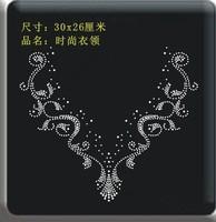 V neckline Iron-on/Heat Transfer Hotfix Rhinestones Motifs Wholesale Drop Shipping No 789684522