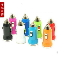 200 pc/lot Car usb player general charger double cigarette lighter usb line mp3 car charger