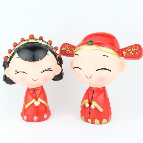 Resin bride crafts desktop lovers valentine day gift(China (Mainland))