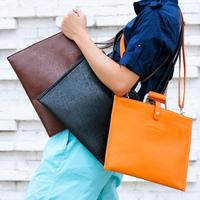 2013 women's handbag men's briefcase shoulder bag messenger bag handbag pad laptop bag envelope bag