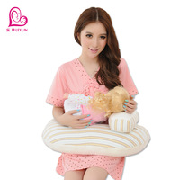 Breast pad nursing pillow feeding pillow multifunctional toweled nursing pillow teethe baby pad