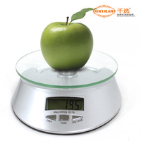 Kitchen scale kitchen scale portable mini electronic scale micro-called platform scale leather