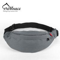Mrace tidal current male women's handbag portable small casual sports waist pack chest pack messenger bag