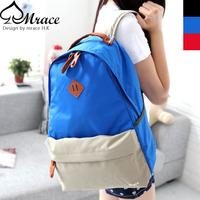 Trend preppy style man bag women's handbag student school bag travel bag backpack