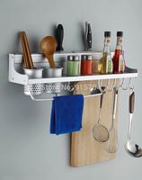 Free shipping! Kitchen shelves, kitchen hardware,kitchen accessories,Aluminum kitchen combination,useful household