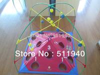 1 piece children 3D boll toy, bolo toss game.