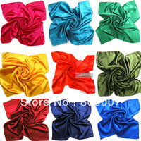 Free shipping Large satin 90*90cm scarf  faux silk large Women's fashion square scarves