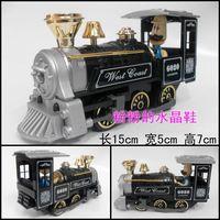 Steam doll model train toy WARRIOR black