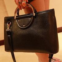 Bags 2013 women's handbag fashion vintage bag metal quality handbag messenger bag big bag