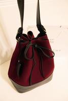 Vintage bucket female bag shoulder bag casual all-match autumn and winter bag bucket women's handbag