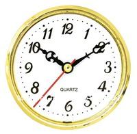 Whose sale gold bezel wall clock  plastic insert clock part clock head watch movement carft clock 88mm Arabic number 5pcs/lot