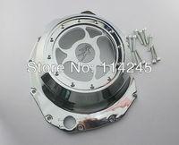 Glass Motorcycle Engine Clutch Cover For Suzuki GSX1300R Hayabusa 1999 2000 2001 2002 2003 2004 2005 2006 2007