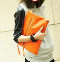 2013 fashion motorcycle bag vintage bag envelope bag female bags day clutch