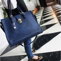 2013 women's handbag fashion handbag messenger bag fashion messenger bag vintage casual one shoulder big bags