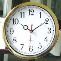 Whose sale new style wall clock  plastic insert clock part clock head watch movement carft clock 195mm Arabic number 5pcs/lot