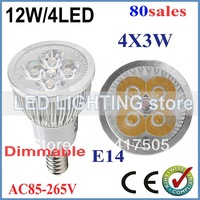 90% energy savings 80x Dimmable GU10 E27 E14 12W High power LED Bulb Spotlight Downlight Lamp LED Lighting Good Quality