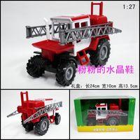 Tractor water sprinkler dump alloy model car toy exquisite gift