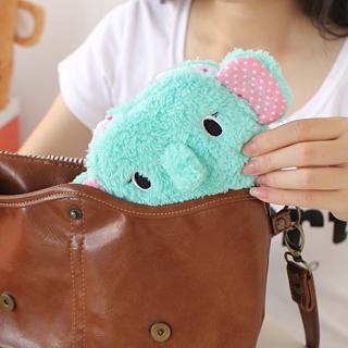 Plush elephant sanitary cotton bags girls sanitary napkin storage bag 13274 best selling hit hot product free shipping