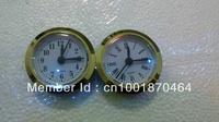 Whose sale new style sliver bezel plastic insert clock part art clock clock head carft clock 50mm Arabic number 5pcs/lot