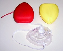 free shipping mouth to mouth mask/CPR face shield/CPR shield mask/first aid mask(China (Mainland))