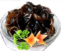 [Vic] Free shipping 250g/8.8oz High-Quality Northeast of China Handpick Natural dehydrated Black Fungus(Jew's-ear) Health Food