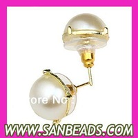 Free Shipping 2013 Fashion Crew Bubble Stud Earrings For Women Wholesale Factory Direct Price
