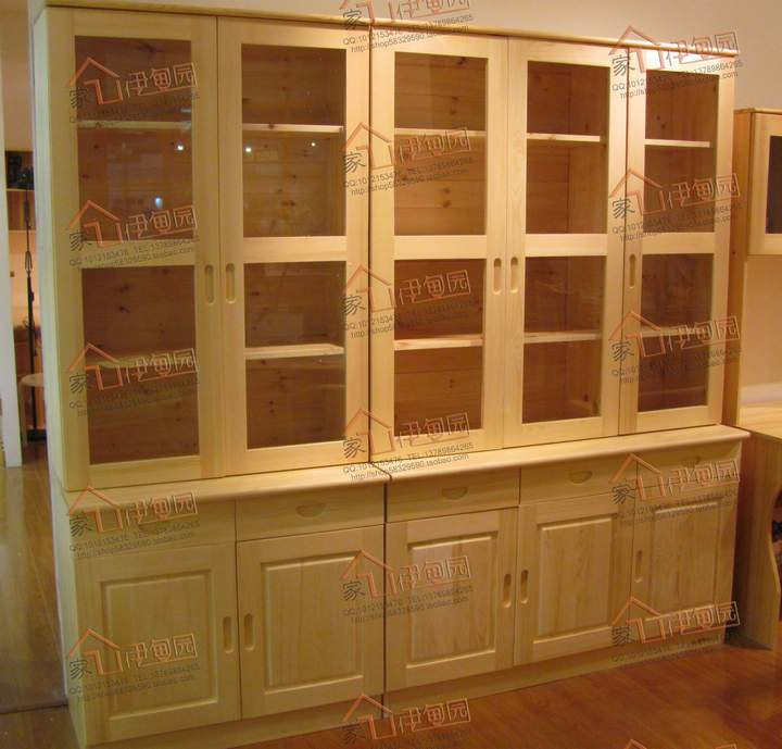 All Wood Storage Cabinet ~ Is all solid wood furniture full pine bookcase storage