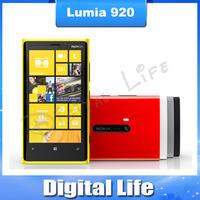 "Lumia 920 Original unlocked Nokia Lumia 920 with 4.5 "" Capacitive screen Dual core 32G ROM +1G RAM free shipping"