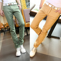 Max homme 2013 spring and summer jeans trousers multicolour the trend male slim denim trousers male skinny pants