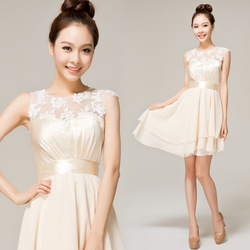 Free Shipping New Design Cap Sleeve Above Knee Taffeta 2013 prom dress short(China (Mainland))