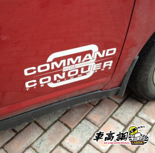 Personalized door stickers rear window 3m reflective stickers car stickers car sticker b2771(China (Mainland))