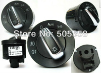 CHROME HEADLIGHT SWITCH VW PASSAT CC B6 GOLF JETTA MK5 MK6