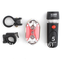 12PCS Free shipping MS-128 Flashlight Set