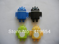Lovely Small Person MP3 Player With MicroSD TF Card Slot 5 Colors No Accessories 20PCS For Sample Free Shipping