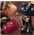 Fashion New Women Ladys PU Leather purses handbags Totes HOBO Shoulder Bag ADW