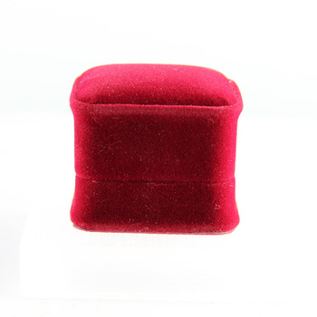 Exquisite quality velvet ring box jewelry box