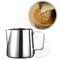 3oz Stainless Steel Milk Pitcher italian coffee espresso utensils cappuccino cup metal pitcher for milk cappuccino
