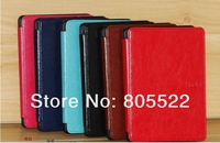Slim smart cover case for Amazon kindle paperwhite with wake up/sleep function 30pcs/lot DHL free shipping