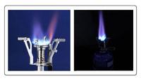 Folding Camping Mini Burner Fit Diversified Pot Gas  stove head