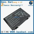New laptop battery for Asus F52 F82 K40 K50 K40E K51 K60 K70 Series,90-NVD1B1000Y A32-F52 A32-F82 6CELLS