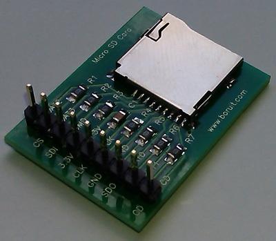 Микро sd карта модуль карты памяти