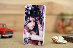 Top Quality Mobile Phone Accessory Sexy Girl Illustrations Case Skin For iPhone 4 Ultrathin Hard Cover For iPhone 4S + 10pcs/Lot(China (Mainland))