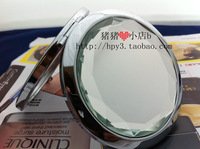Bestselling Wedding gift fashion crystal cosmetic pocket mirror folding double faced portable gift