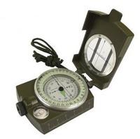 Outdoor life-saving  multifunctional compass metal lens compass