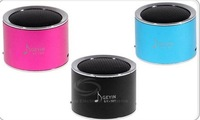 GY-121 Stylish Column Model Stereo Music Speaker Mini Loudspeaker (Blue)