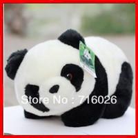 Free Shipping! Animal bear Plush  pandaway giant panda doll  toy gift tendrils 16cm size chiese character bamboo