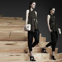 High quality velvet skinny pants all-match fashion ol taper casual pants