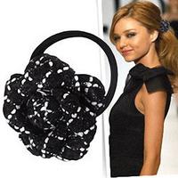 Nibbuns hair accessory fashion star style headband rubber band hrgl004 cx01