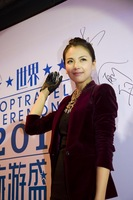 Fashion women's 2013 spring fashion brief elegant velvet female blazer outerwear
